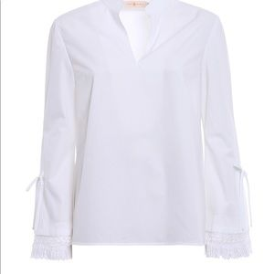 Tory Burch Sophie Top.  New with Tags.  Size 8